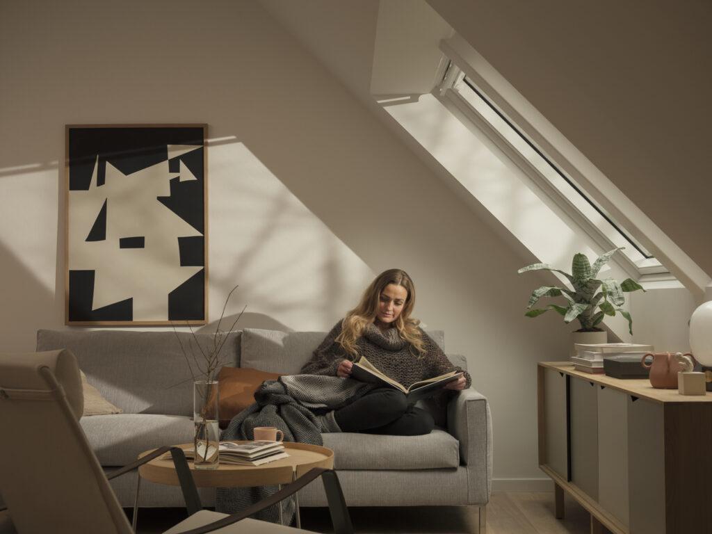 Дизайн інтер'єру вітальні на мансарді 100+ фото