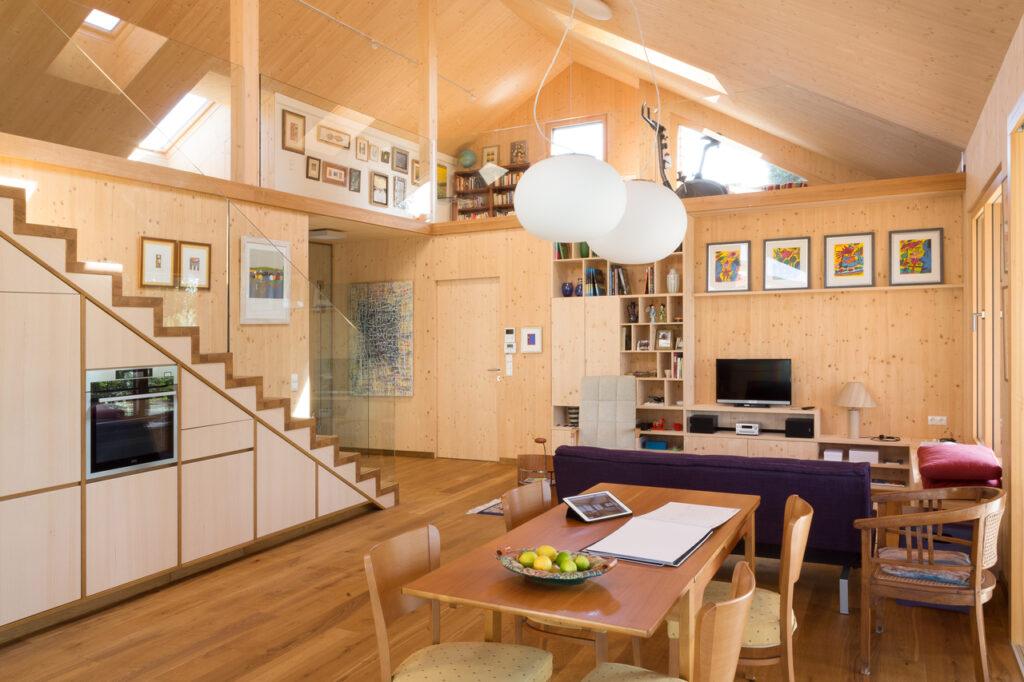 Дизайн інтер'єру кімнати відпочинку на мансарді 100+ фото