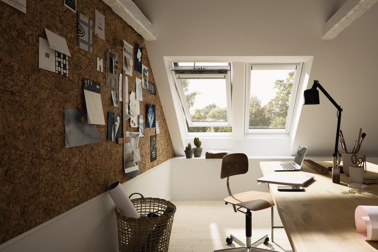 Дизайн интерьера мастерской на мансардном этаже: фото #0017 Дизайн интерьера мастерской на мансарде 100+ фото